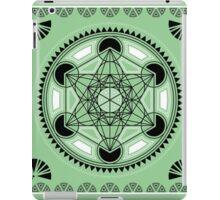 SACRED GEOMETRY - METATRONS CUBE - FLOWER OF LIFE - SPIRITUALITY iPad Case/Skin
