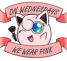 Pink Wednesdays Jigglypuff by ESkalecki