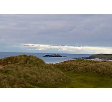 Godrevy Lighthouse-Cornwall Photographic Print
