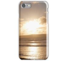 Gwithian's sunset (Cornwall) iPhone Case/Skin