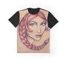 Scorpio ♏ Astrological Fantasy Portrait Graphic T-Shirt