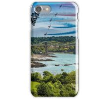 Ynys Mon Vulcan - Arrows Over The Straits iPhone Case/Skin