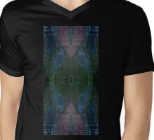 The Maze from Heaven to Earth Mens V-Neck T-Shirt