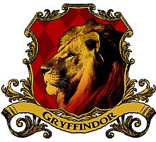 Gryffindor House Crest by SedatedArtist