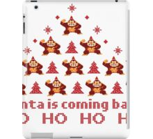 Santa is coming back iPad Case/Skin