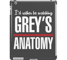 Grey's Anatomy - Watching Tshirt iPad Case/Skin