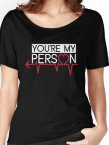 Grey's Anatomy - You Are My Person Left Women's Relaxed Fit T-Shirt