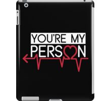 Grey's Anatomy - You Are My Person Left iPad Case/Skin