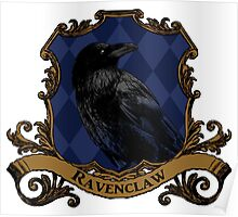 Ravenclaw House Crest Poster