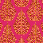 SPIRIT pink satsuma (card) by Sharon Turner