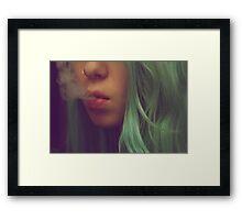 Smokey Dreams Framed Print