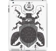 Spilling Time - Beetle Two - Grey iPad Case/Skin