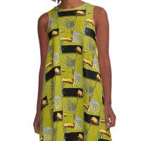 sunflower rising A-Line Dress