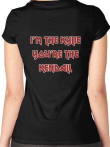 I'm The Kylie, You're The Kendall Women's Fitted Scoop T-Shirt