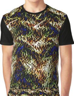 Gold Dross, green pine needles, and bits of broken sapphire shards Graphic T-Shirt