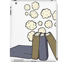 cartoon books iPad Case/Skin