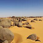 Sandy Rocks by Omar Dakhane