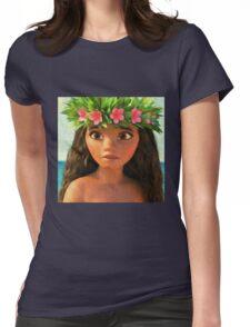 vaiana, maui,moana Womens Fitted T-Shirt