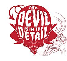 The Devil is in the Detail Photographic Print