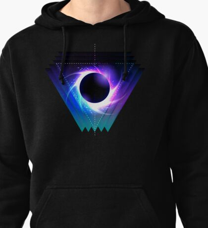 Black hole with starry vortex Pullover Hoodie