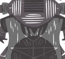 Eye of the Gods - Beetle Three - grey Sticker