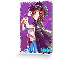 KILL LA KILL - FIGHT CLUB MAKO 2 Greeting Card