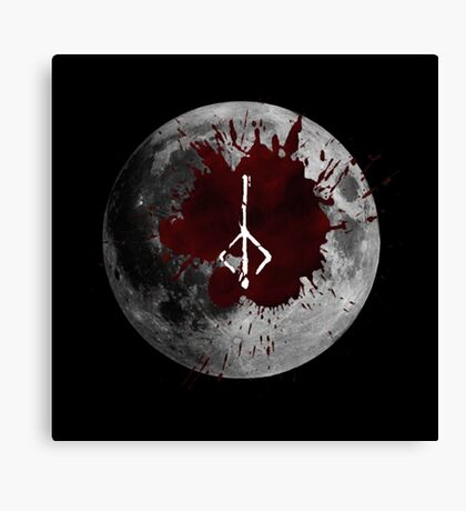 Bloodmoon Canvas Print