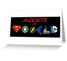 Agents of DC! Greeting Card