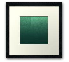 Jade Map Framed Print