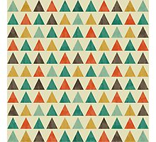 Lovely geometric Pattern VII Photographic Print