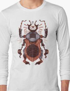 Eye of the Gods - Beetle Three - red Long Sleeve T-Shirt
