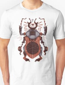 Eye of the Gods - Beetle Three - red T-Shirt