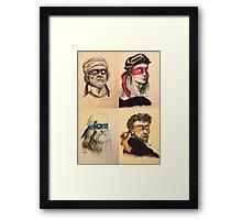 TMNT Tribute Framed Print
