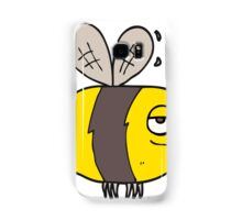 cartoon unhappy bee Samsung Galaxy Case/Skin