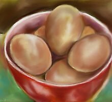 Eggs  by Janette  Leeds