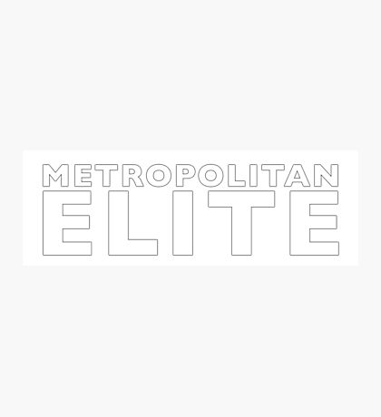 Metropolitan Elite Photographic Print
