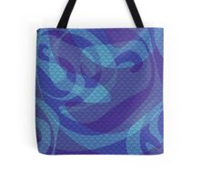 Purple Mermaid Scales Tote Bag