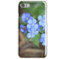 not forget-me-not iPhone Case/Skin