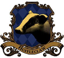 Huffleclaw House Crest by SedatedArtist