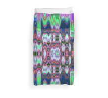Colourful waves and patterns Duvet Cover