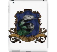 Slytherclaw House Crest iPad Case/Skin