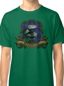 Slytherclaw House Crest Classic T-Shirt