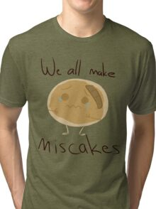Pancake mistake Tri-blend T-Shirt