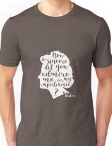 Orgueil et Préjugés - blanc Unisex T-Shirt