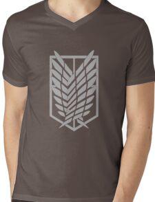 Wings of Liberty Mens V-Neck T-Shirt