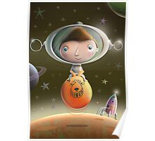 Spacehopper No.2 Poster