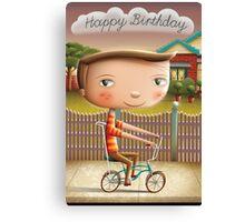 Happy Birthday (Malvern Star) Canvas Print