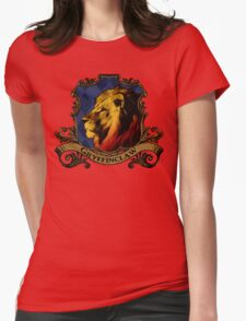 Gryffinclaw House Crest Womens Fitted T-Shirt