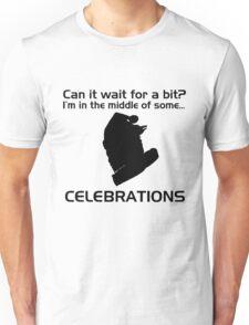 Celebrations (Black) Unisex T-Shirt