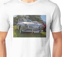Silver Karmann Ghia at 2014 Volksfest Unisex T-Shirt